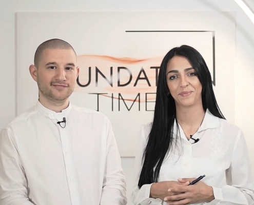 Foundation Time Microhaarpigmentierung